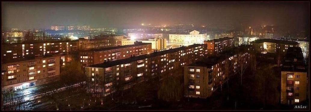 Ночная Шостка